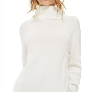 TopShop Oversized Turtleneck Sweater